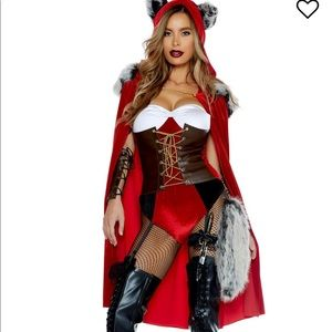 Red Haute Storybook Costume - Red